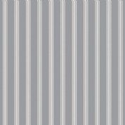 Lewis & Irene A Countryside Winter - 5531 - White Stripe on Pale Grey  - C18.3 - Cotton Fabric